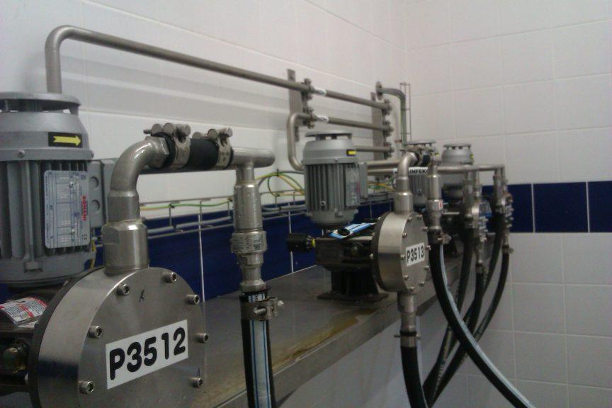 dávkovací čerpadla membránová OBL řada MC a MB