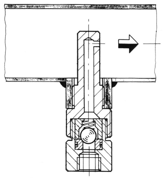 injekční tryska V810