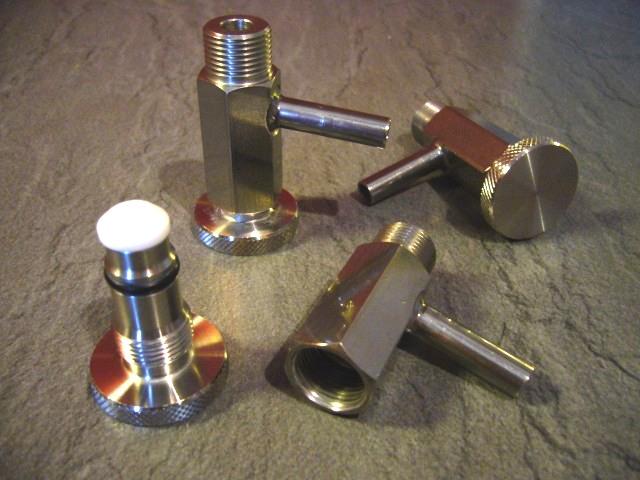 vzorkovací ventil nerezový mini