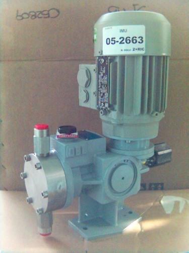 dávkovací čerpadlo membránové hydraulické OBL řada XR, textilní průmysl