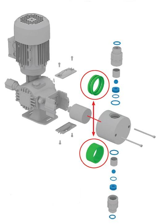 dávkovací čerpadlo OBL řada R