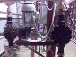 dávkovací čerpadla OBL řada MC - dávkování rostlinného oleje