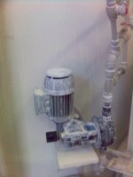 dávkovací čerpadlo OBL řada MC - dávkování vápenného mléka
