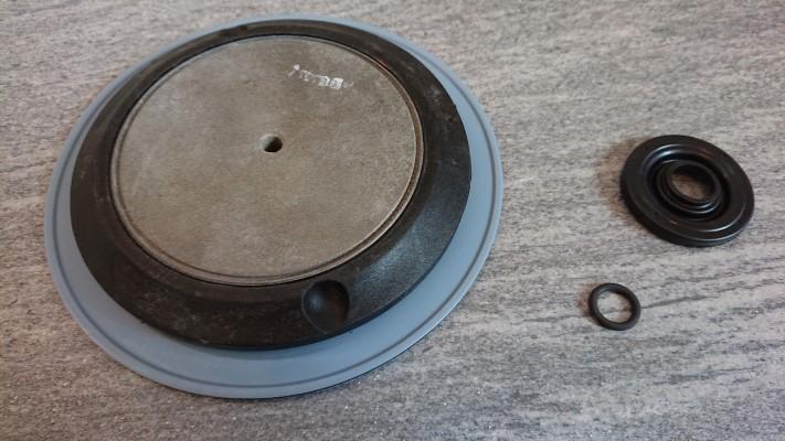 náhradní membrána dávkovacího čerpadla OBL série M průměr 165mm