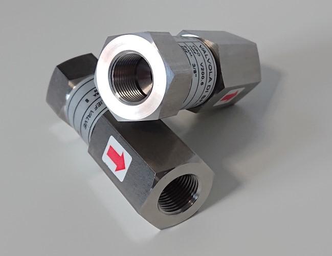 přetlakový nerezový pojistný ventil V200