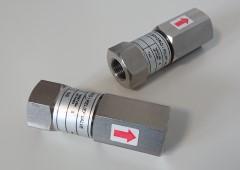 nerezový přetlakový pojistný ventil