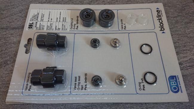 sada pro opravu ventilů dávkovacího čerpadla OBL