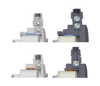 zpětné ventily dávkovacího čerpalda OBL série R